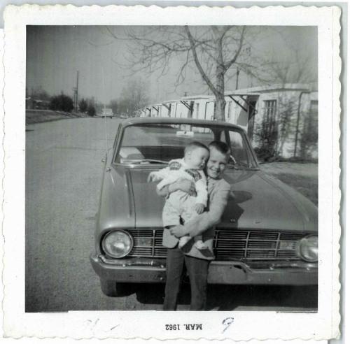 Dale Hardy in 1962 in the Vicksburg LeTourneau Community