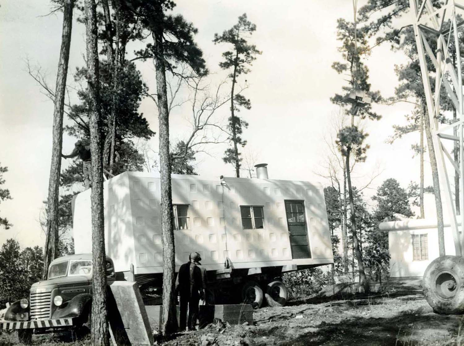 Lovely Homes Delivered By Truck 4 1940 Circa Apart House